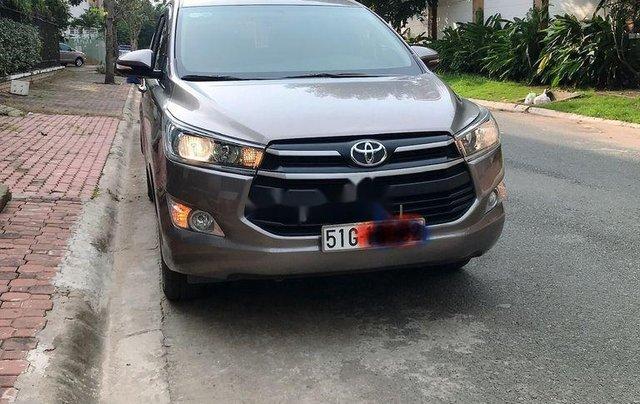Bán Toyota Innova 2.0G đời 2018, màu nâu. BSTP0