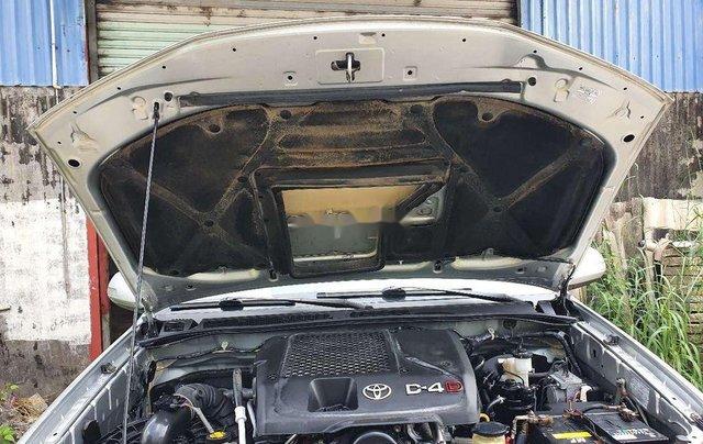 Bán ô tô Toyota Fortuner năm 2016, màu bạc số sàn, máy dầu9