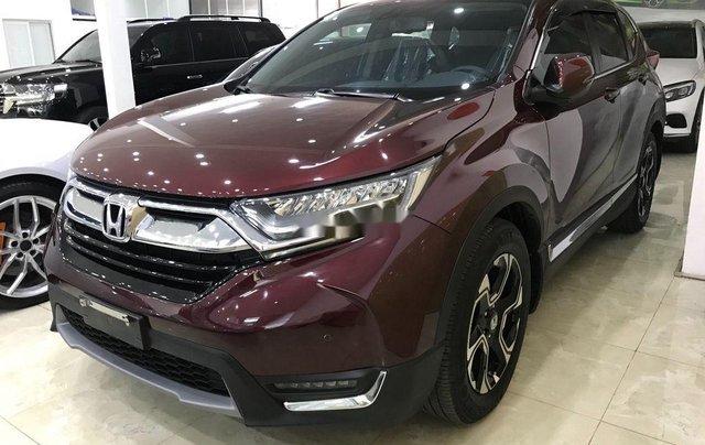Bán Honda CR V 1.5L năm 2019, màu đỏ1