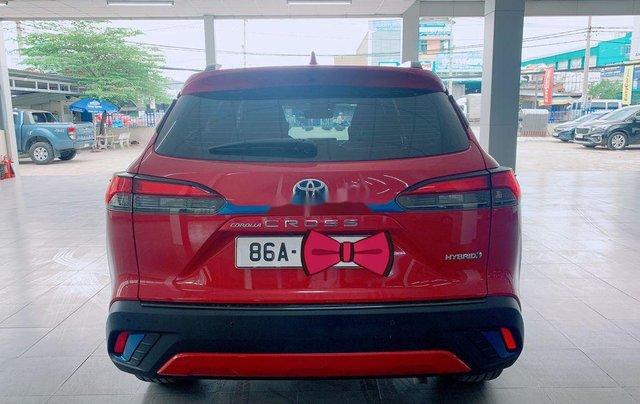 Bán Toyota Corolla Cross đời 2020, màu đỏ, nhập khẩu2