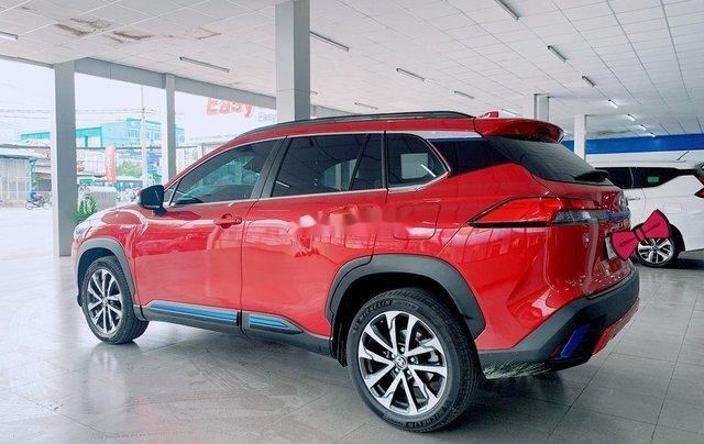 Bán Toyota Corolla Cross đời 2020, màu đỏ, nhập khẩu1