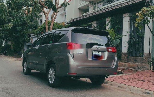 Bán Toyota Innova 2.0G đời 2018, màu nâu. BSTP3