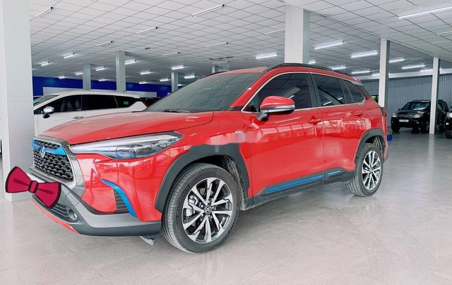 Bán Toyota Corolla Cross đời 2020, màu đỏ, nhập khẩu0