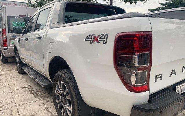 Bán Ford Ranger Wildtrak 3.2 đời 2016, đăng kí 3/2017, màu trắng, nhập khẩu 2