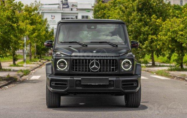 Bán xe Mercedes G63 Trail Package sản xuất 2020, màu đen1