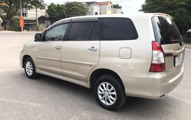 Toyota Innova 2.0E đời cuối 2014 form mới, 1 chủ mua đi từ mới, số tay, màu nâu vàng, xe chất lượng cao2