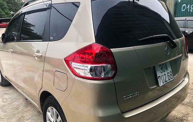 Cần bán Suzuki Ertiga năm 2015, màu vàng cát, nhập khẩu 2