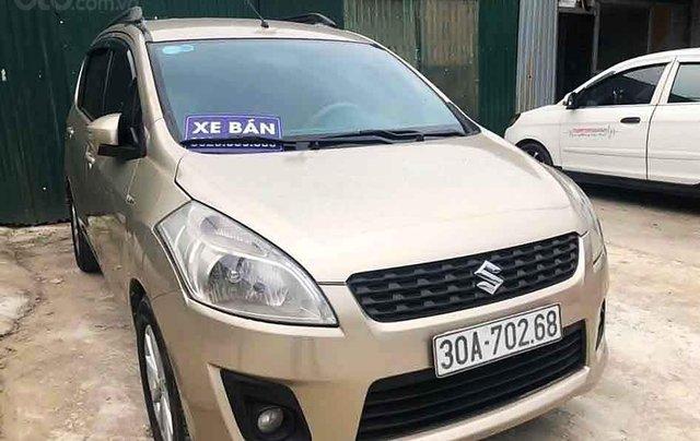 Cần bán Suzuki Ertiga năm 2015, màu vàng cát, nhập khẩu 0