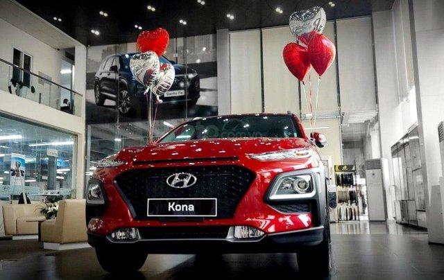 Bán xe Hyundai Kona 2020, màu đỏ1