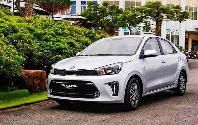 Cần bán xe Kia Soluto sản xuất năm 2020, màu bạc0