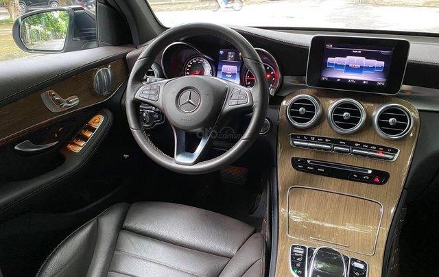 [Hot] siêu phẩm Mercedes GLC250 đen nội thất nâu cafe10