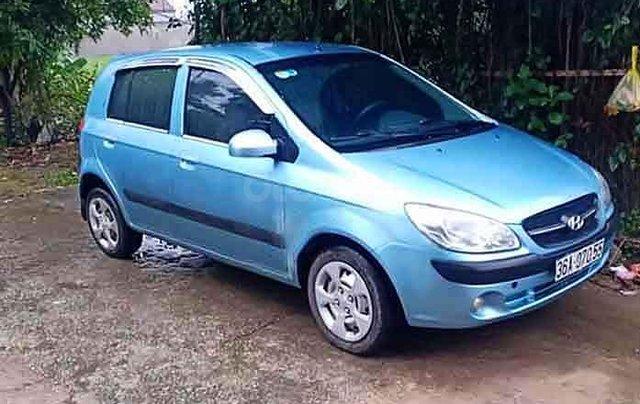 Bán Hyundai Getz năm 2010, màu xanh, nhập khẩu  0