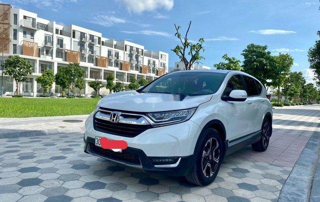 Cần bán gấp Honda CR V đời 2018, màu trắng, xe nhập0