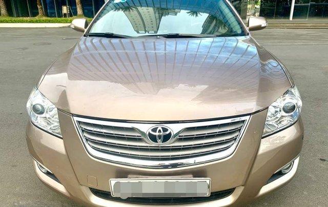 Cần bán lại xe Toyota Camry sản xuất năm 2007 còn mới0