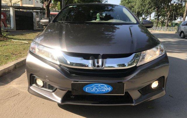Cần bán Honda City năm 2016, màu xám, số tự động0