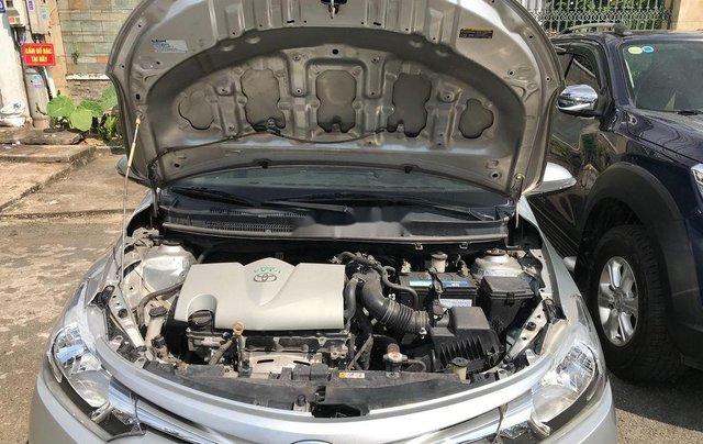 Cần bán xe Toyota Vios sản xuất 2017, màu bạc xe gia đình, giá chỉ 410 triệu10
