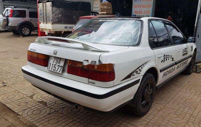 Bán xe Honda Accord đời 1991, màu trắng, xe nhập số sàn, 73tr2