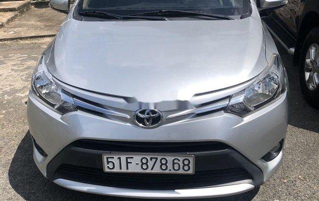 Bán Toyota Vios sản xuất năm 2017, màu bạc, nhập khẩu 5