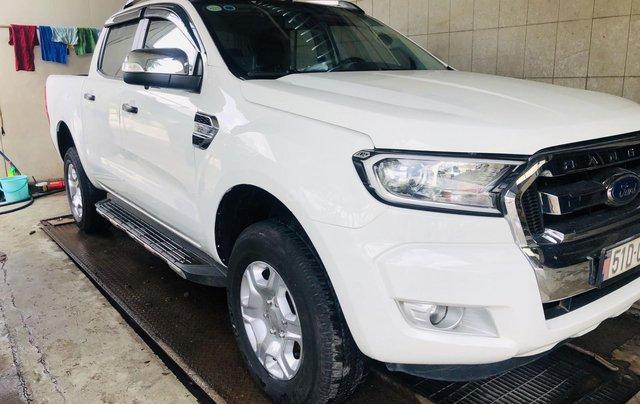 Bán Ford Ranger đăng ký 2016, màu trắng, xe gia đình, giá chỉ 579 triệu đồng1