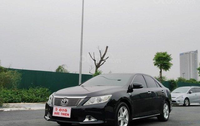 Toyota Camry 2.5Q 2013, màu đen0