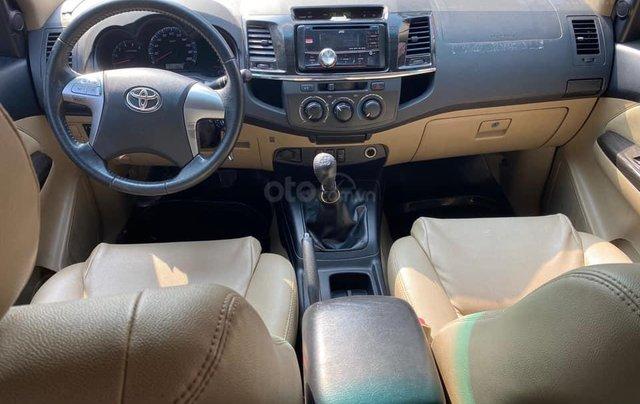 Bán Toyota Fortuner 2016, màu bạc.5
