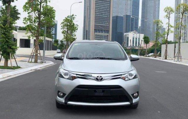 Cần bán xe Toyota Vios G 2017, màu bạc2