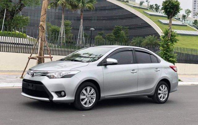 Cần bán xe Toyota Vios G 2017, màu bạc3