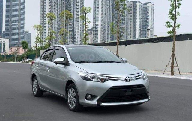 Cần bán xe Toyota Vios G 2017, màu bạc6