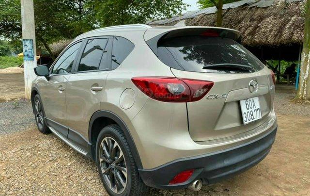 Mua xe giá thấp chiếc Mazda CX5 2.5 đời 2016, màu vàng cát, chính chủ sử dụng3