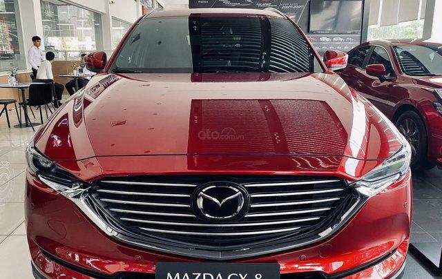 [TPHCM] Mazda CX8 - Giảm ngay 150tr + Gói nâng cấp lên đến 35tr - Trả trước 300tr + Hỗ trợ vay lên đến 80%0