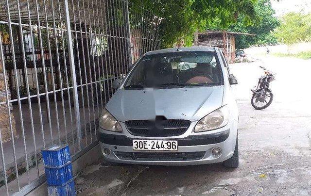 Bán ô tô Hyundai Getz đời 2009, màu bạc1