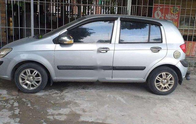 Bán ô tô Hyundai Getz đời 2009, màu bạc0