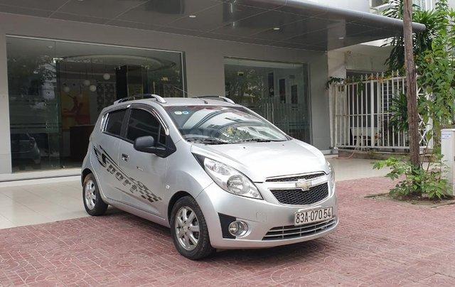 Bán xe Chevrolet Spark đời 2012, màu ghi còn mới, giá chỉ 175 triệu đồng4