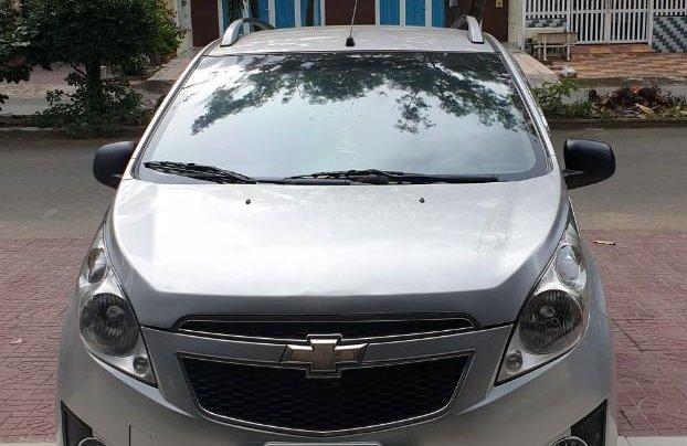 Bán xe Chevrolet Spark đời 2012, màu ghi còn mới, giá chỉ 175 triệu đồng2
