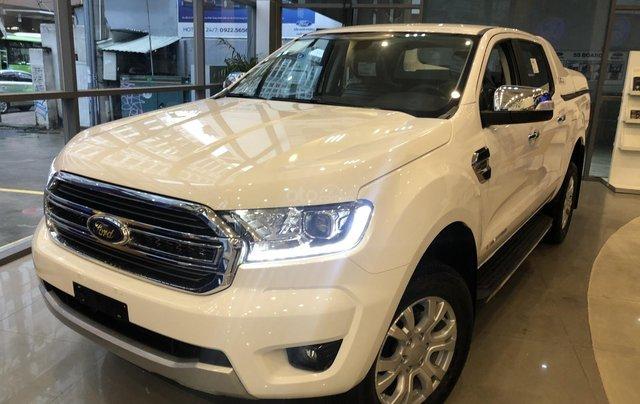 Hỗ trợ mua xe trả góp lãi suất thấp với chiếc Ford Ranger Limited sản xuất 2020, giao nhanh1