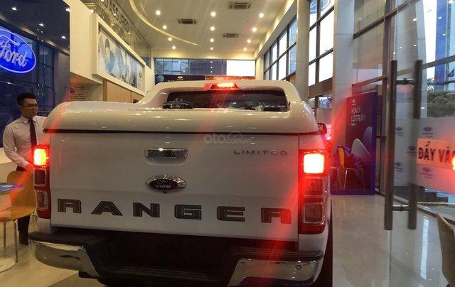 Hỗ trợ mua xe trả góp lãi suất thấp với chiếc Ford Ranger Limited sản xuất 2020, giao nhanh6
