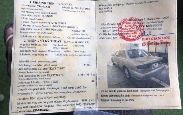 Bán Hyundai Sonata sản xuất 1995, xe nhập, giá tốt8
