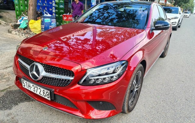 Mercedes C180 Siêu mới, xe SX 2020 mới đăng kí được 17 ngày, đi 1.900 km0
