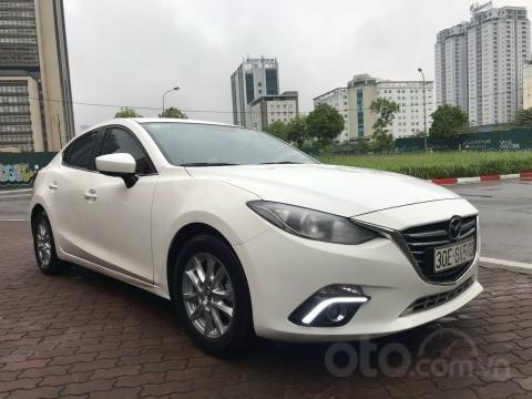 Bán xe Mazda 3 1.5AT SX 2016 biển HN, zin từng con ốc0