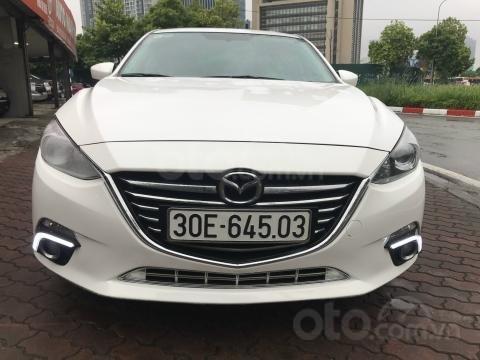Bán xe Mazda 3 1.5AT SX 2016 biển HN, zin từng con ốc3