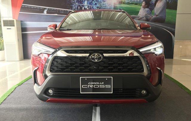 Toyota Corolla Cross 2020, có sẵn, đủ màu giao ngay tháng 11/2020, giá ưu đãi2