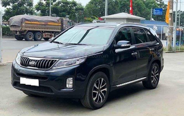Bán ô tô Kia Sorento sản xuất 2019, màu xanh lam còn mới, 718 triệu0