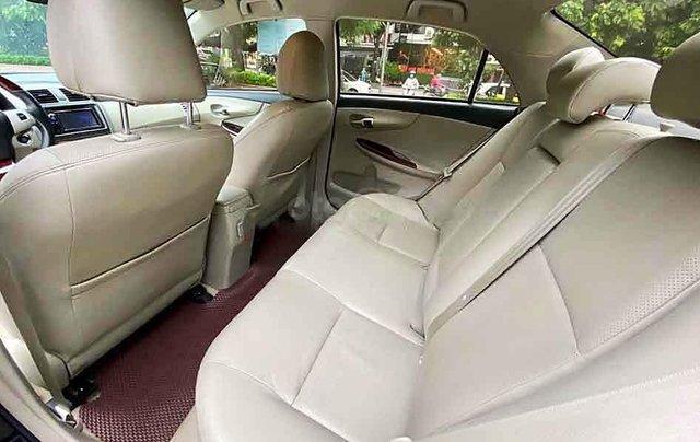 Bán Toyota Corolla Altis sản xuất 2013, màu đỏ còn mới1