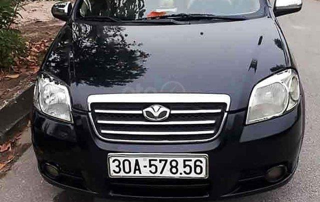 Cần bán lại xe Daewoo Gentra năm sản xuất 2007, màu đen còn mới0