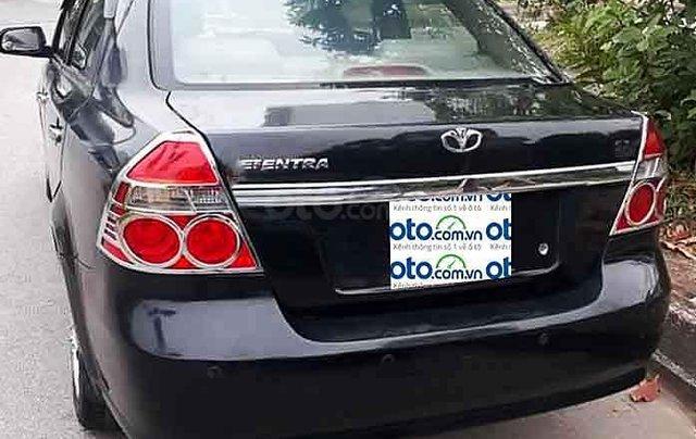 Cần bán lại xe Daewoo Gentra năm sản xuất 2007, màu đen còn mới3