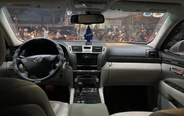 Bán Lexus LS460L 2011, màu xám bạc7
