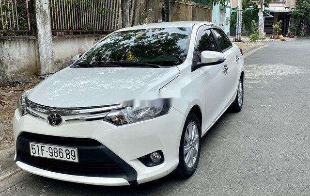 Bán Toyota Vios đời 2016, màu trắng xe gia đình, giá 400tr2