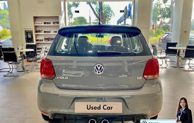 Polo Hatchback lướt màu xám độ body kid, màu sơn mới, bọc da mới giá hạt dẻ - 579 triệu3