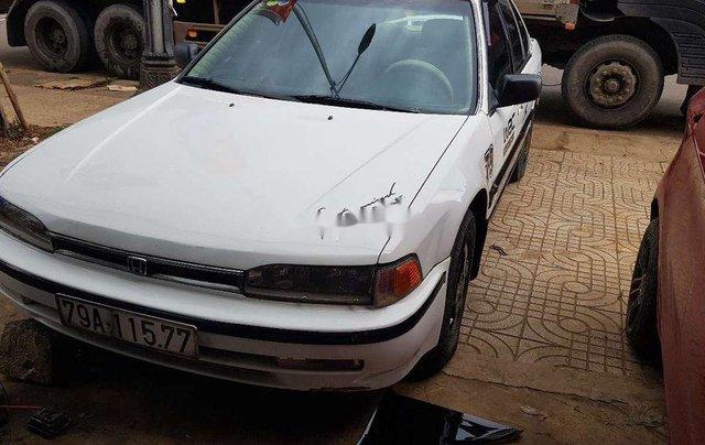 Bán xe Honda Accord đời 1991, màu trắng, xe nhập số sàn, 73tr1