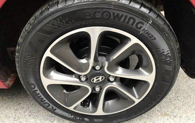 Cần bán xe Hyundai Grand i10 năm sản xuất 2018, màu đỏ, 325tr8
